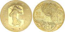 France 10 Euro OR  - Semeuse Franc a Cheval 2015 - Frappe BE - sans boîte ni certificat