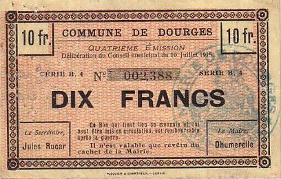 France 10 F Dourges
