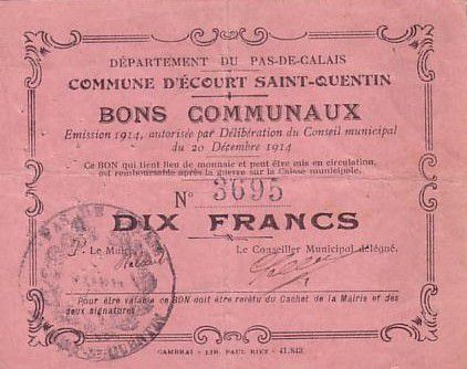 France 10 F Ecourt-Saint-Quentin