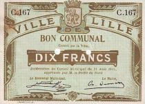 France 10 F Lille 2 trous perforés
