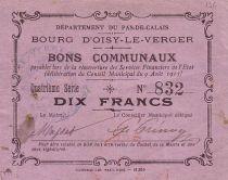 France 10 F Oisy-Le-Verger