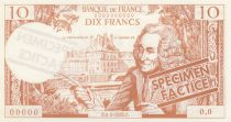 France 10 F Voltaire (marron) - 01/01/1963