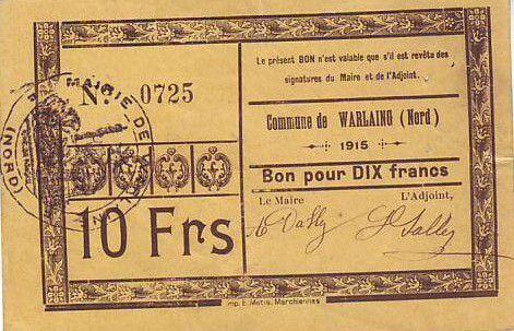France 10 F Warlaing
