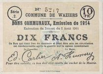France 10 F Waziers