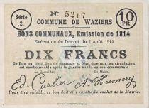 France 10 F Waziers