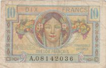France 10 Francs , French Treasure - 1947 - Serial  A.08142036