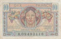 France 10 Francs , French Treasure - 1947 - Serial  A.09493116
