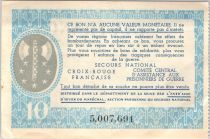 France 10 Francs , Petain - Women with childs