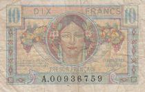 France 10 Francs , Trésor Français - 1947 - Série A.00936759