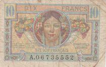 France 10 Francs , Trésor Français - 1947 - Série A.06735552