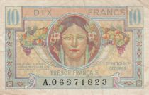 France 10 Francs , Trésor Français - 1947 - Série A.06871823