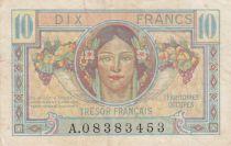 France 10 Francs , Trésor Français - 1947 - Série A.08383453