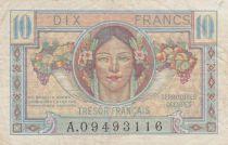 France 10 Francs , Trésor Français - 1947 - Série A.09493116