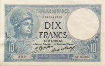 France 10 Francs  Minerve 19-05-1932 - Série W.65065 - SUP