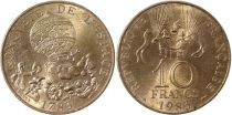 France 10 Francs 200th anniversary of Montgolfier Ballon