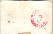 France 10 Francs Aniche City - 1915