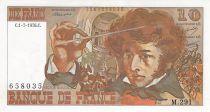 France 10 Francs Berlioz - 01-07-1976 Serial M.291 - AU
