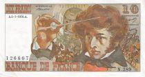 France 10 Francs Berlioz - 01-07-1976 Serial N.289 - VF+