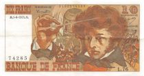 France 10 Francs Berlioz - 01-08-1974 Serial L.76 - VF+