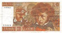 France 10 Francs Berlioz - 01-08-1974 Serial Y.70 - F to VF
