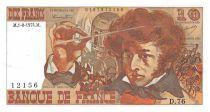 France 10 Francs Berlioz - 01-08-1974 Série D.76 - SUP