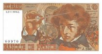 France 10 Francs Berlioz - 02-01-1976 Serial J.280 - AU