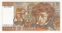 France 10 Francs Berlioz - 02-03-1978 Serial G.302 - VF+