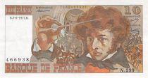 France 10 Francs Berlioz - 02-06-1977 Serial N.299 - VF+