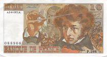 France 10 Francs Berlioz - 02-06-1977 Serial P.298 - VF+