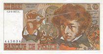 France 10 Francs Berlioz - 02-06-1977 Serial Q.300 - VF+
