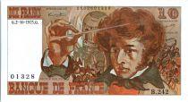 France 10 Francs Berlioz - 02-10-1975 Serial B.242