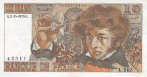 France 10 Francs Berlioz - 02-10-1975 Serial L.242 - VF+