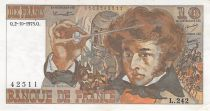 France 10 Francs Berlioz - 02-10-1975 Série L.242 - TTB+