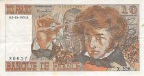 France 10 Francs Berlioz - 02-10-1975 Série X.228 - TB