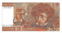 France 10 Francs Berlioz - 03-03-1977 Serial A.296 - XF+