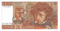 France 10 Francs Berlioz - 03-03-1977 Serial A.297 - XF+