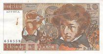 France 10 Francs Berlioz - 03-03-1977 Serial D.295 - VF+