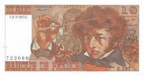 France 10 Francs Berlioz - 03-03-1977 Serial E.297 - XF+