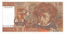 France 10 Francs Berlioz - 03-03-1977 Serial K.296 - VF