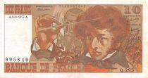 France 10 Francs Berlioz - 03-03-1977 Serial Q.295 - VF