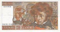 France 10 Francs Berlioz - 03-03-1977 Serial U.296 - VF+