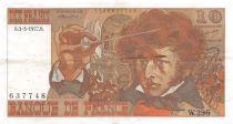 France 10 Francs Berlioz - 03-03-1977 Serial W.296 - VF