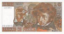 France 10 Francs Berlioz - 03-03-1977 Serial W.297 - XF+