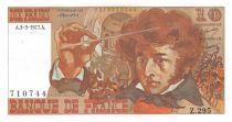 France 10 Francs Berlioz - 03-03-1977 Série Z.295 - SUP