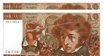 France 10 Francs Berlioz - 03-07-1975 Série Q.192 Paire de n° consécutifs