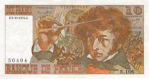 France 10 Francs Berlioz - 03-10-1974 Serial E.106 - VF+