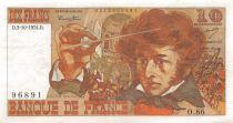 France 10 Francs Berlioz - 03-10-1974 Serial O.86 - F to VF