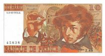 France 10 Francs Berlioz - 03-10-1974 Serial Z.89 - AU