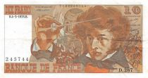 France 10 Francs Berlioz - 04-03-1976 Serial D.287 - F to VF