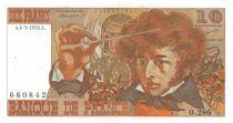 France 10 Francs Berlioz - 04-03-1976 Serial O.286 - VF+
